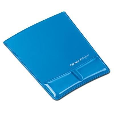 Podložka pod myš Fellowes Health-V CRYSTAL modrá