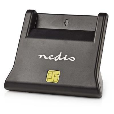 Čtečka čipových karet Nedis CRDRU2SM3BK