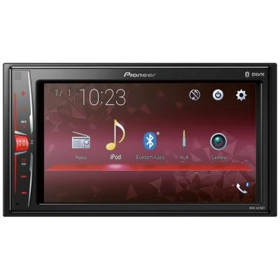 "PIONEER autorádio MVH-A210BT/ FM tuner/ 6.2"" dotykový display/ Bluetooth/ USB/ podpora iPhone/ 4x 50W"