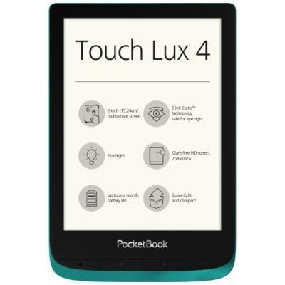 Čtečka elektronických knih PocketBook 627 zelená