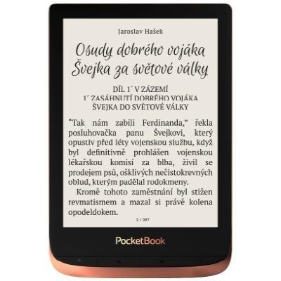 Čtečka elektronických knih PocketBook 632 měděná