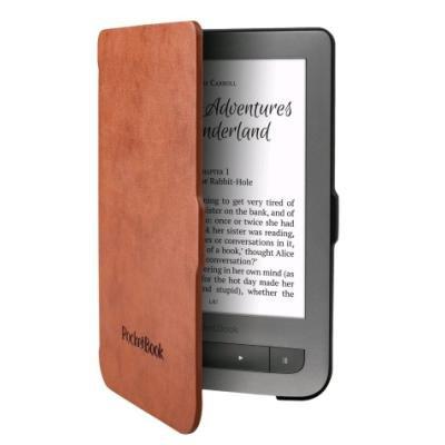 Pouzdro PocketBook pro 614 černo - hnědé