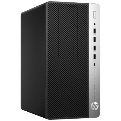 HP EliteDesk 705 G4 MT/ Ryzen 7 Pro 2700/ 8GB DDR4/ 256GB SSD/ GTX1060 3GB/ DVD-RW/ W10P/ černý/ 3yw