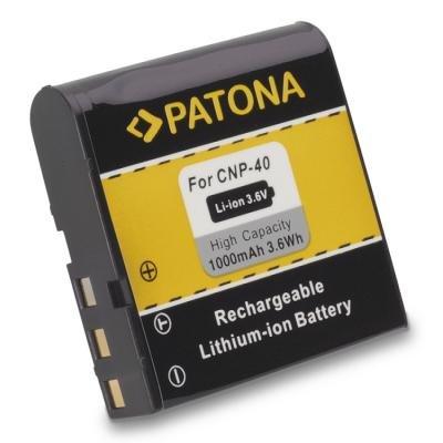 Baterie PATONA kompatibilní s Casio NP-40