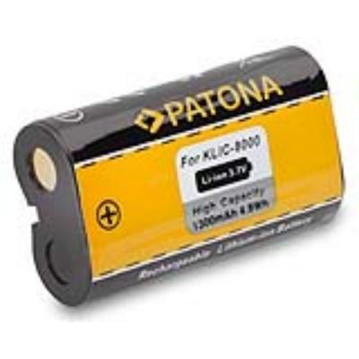 Baterie PATONA kompatibilní s Kodak KLIC-8000