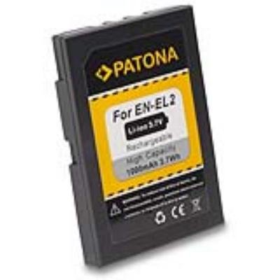 Baterie PATONA kompatibilní s Nikon EN-EL2