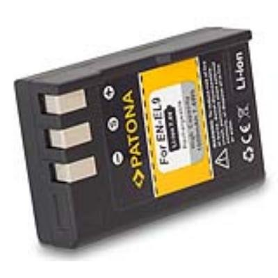 PATONA baterie pro foto Nikon EN-EL9 1000mAh