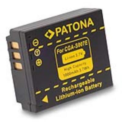 Baterie PATONA kompatibilní s Panasonic CGA-S007E