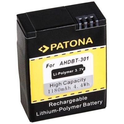Baterie PATONA kompatibilní s GoPro AHDBT-301