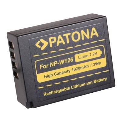 Baterie PATONA kompatibilní s Fuji NP-W126