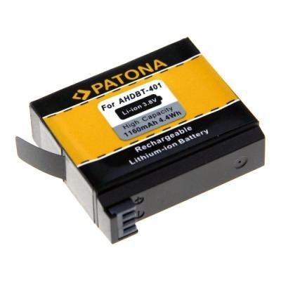 Baterie PATONA kompatibilní s GoPro AHDBT-401