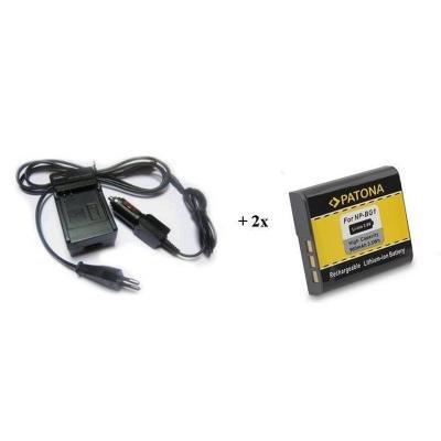Nabíječka PATONA + 2 x baterie Sony NP-BG1