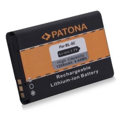 PATONA baterie pro mobilní telefon Nokia BL-5C 1200mAh 3,7V Li-Ion