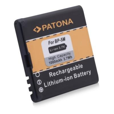 Baterie PATONA kompatibilní s Nokia BP-5M 1000mAh