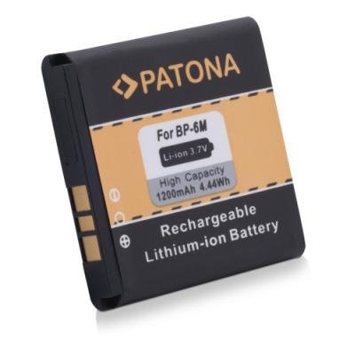 PATONA baterie pro mobilní telefon Nokia BP-6M 1200mAh 3,7V Li-Ion