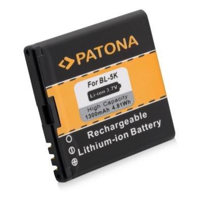 Baterie PATONA kompatibilní s Nokia BL-5K 1300mAh