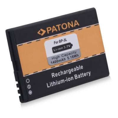 Baterie PATONA kompatibilní s Nokia BP-3L 1400mAh