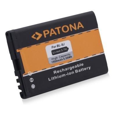 PATONA baterie pro mobilní telefon Nokia BL-5J 1500mAh 3,7V Li-Ion