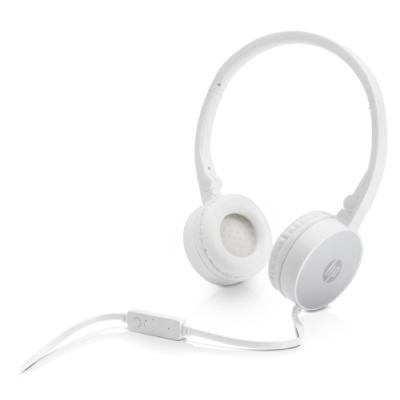 Headset HP H2800 stříbrno - bílý