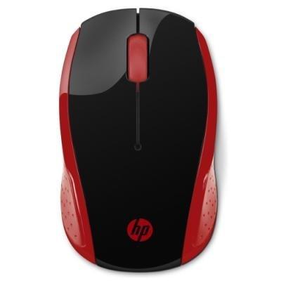Myš HP 200 červeno - černá