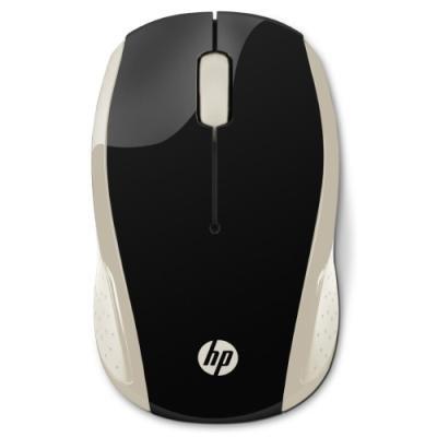 Myš HP 200 zlato - černá