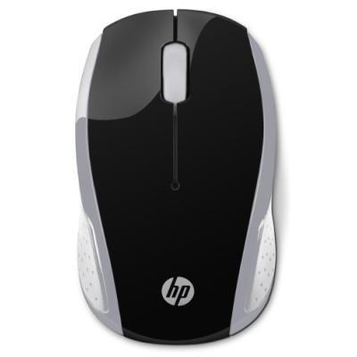Myš HP 200 stříbrno - černá