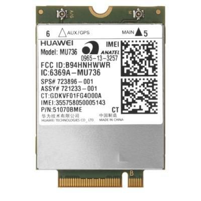 Síťová karta HP hs3110 HSPA+ W10