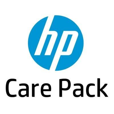 HP Care Pack - Oprava v servisu, 2 roky pro vybrané notebooky HP ZBook 15v