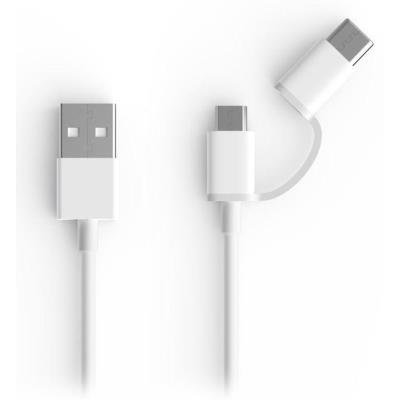 Kabel Xiaomi 2 in 1 USB Cable Micro USB to Type C