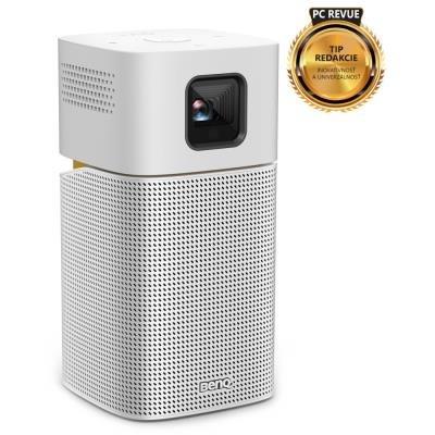 BenQ GV1 gen. II/ LED Mini projektor/ BT repro/ WVGA/ DLP/ 200 ANSI/ USB-C/ Wi-Fi