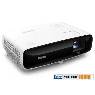 BenQ TK810 4K UHD/ DLP projektor/ 3200ANSI/ 10.000:1/ 2x HDMI/ USB