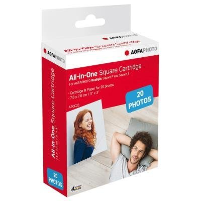 AgfaPhoto All-in-One Square Cartridge ASQC20