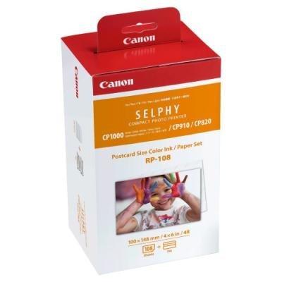 Inkoustová náplň Canon RP-108 + fotopapír