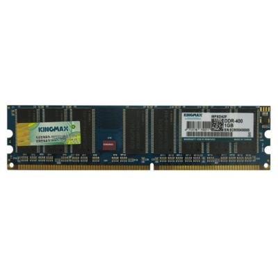 OPRAVENÉ - KINGMAX RAM DDR 1GB PC3200 400MHz (chip Kingmax)
