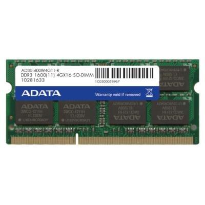 Operační paměť ADATA Premier DDR3 4GB 1600MHz