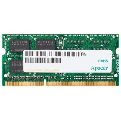 APACER 8GB DDR3 1600MHz / SO-DIMM / CL11 / 1,5V