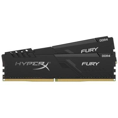 KINGSTON HyperX FURY 16GB DDR4 2666MHz / DIMM / CL16 / černá / KIT 2x 8GB