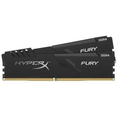 KINGSTON HyperX FURY 16GB DDR4 3200MHz / DIMM / CL16 / černá / KIT 2x 8GB