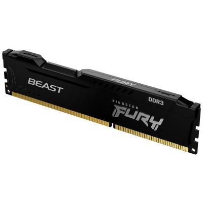 Kingston Fury Beast Black 4GB 1600MHz