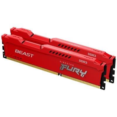 Kingston Fury Beast Red 16GB 1600MHz