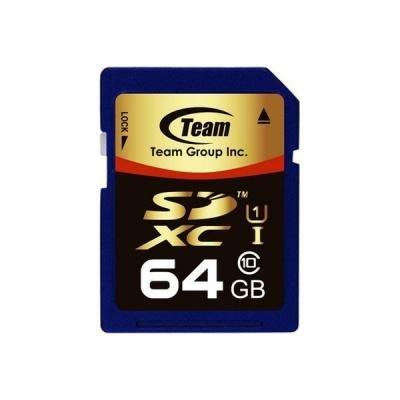 TEAM 64GB Secure Digital SDXC/ UHS-1