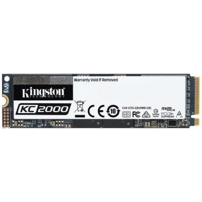 KINGSTON KC2000 1TB SSD / Interní / M.2 2280 / PCIe NVMe Gen3x4 TLC