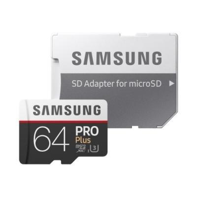 Paměťová karta Samsung PRO Plus Micro SDXC 64GB