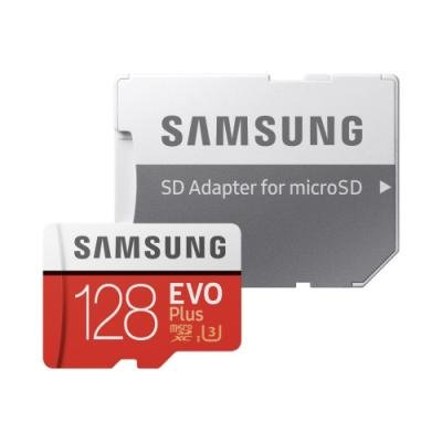 Paměťová karta Samsung EVO Plus Micro SDXC 128GB