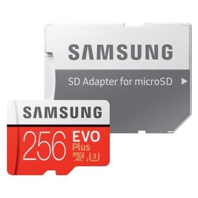 Paměťové karty micro SD HC/XC 256GB
