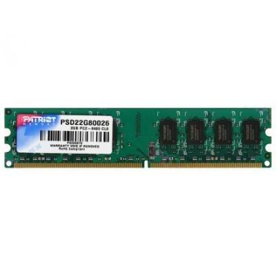 Operační paměť Patriot Signature 2GB DDR2 800MHz