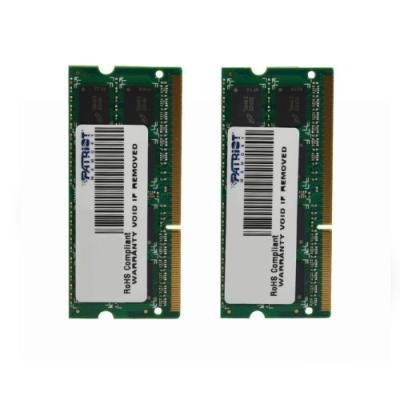 Patriot SO-DIMM DDR3 16GB (2x8GB), pro APPLE PC3-12800 1600MHz CL11