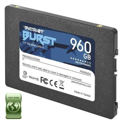 "PATRIOT BURST 960GB SSD / Interní / 2,5"" / SATA 6Gb/s /"