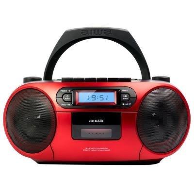AIWA BBTC-550RD červené