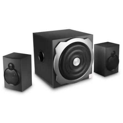 ROZBALENÉ - FENDA F&D repro A521/ 2.1/ 45W/ černé/ USB/SD přehrávání